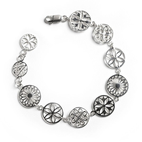 Classic Series Multi Link Bracelet with Lobster Clasp