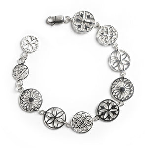 Southern Gates Collection Multi Link Bracelet with Lobster Clasp