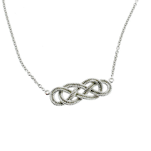 Southern Gates Harbor Series Rope Knot Necklace