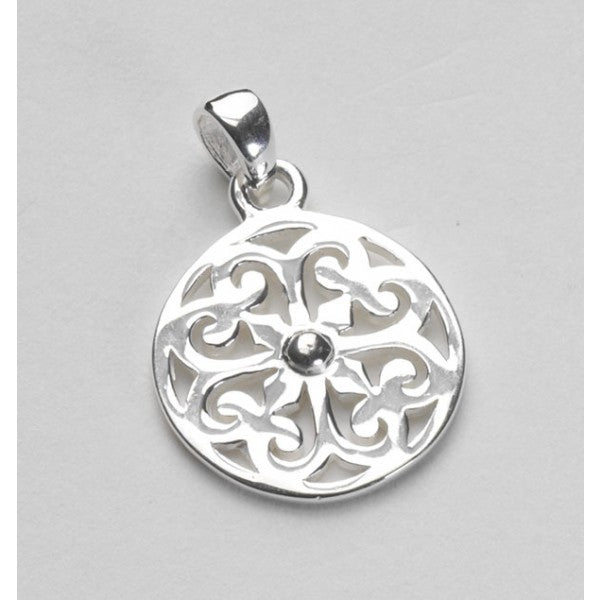 Inspiration Series Small Heart Scroll Pendant