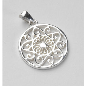 Southern Gates Collection Classic Series Small Cathedral and Scroll Pendant