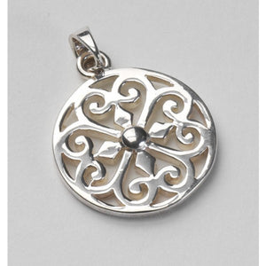 Southern Gates Collection Inspiration Series Medium Heart Scroll Pendant