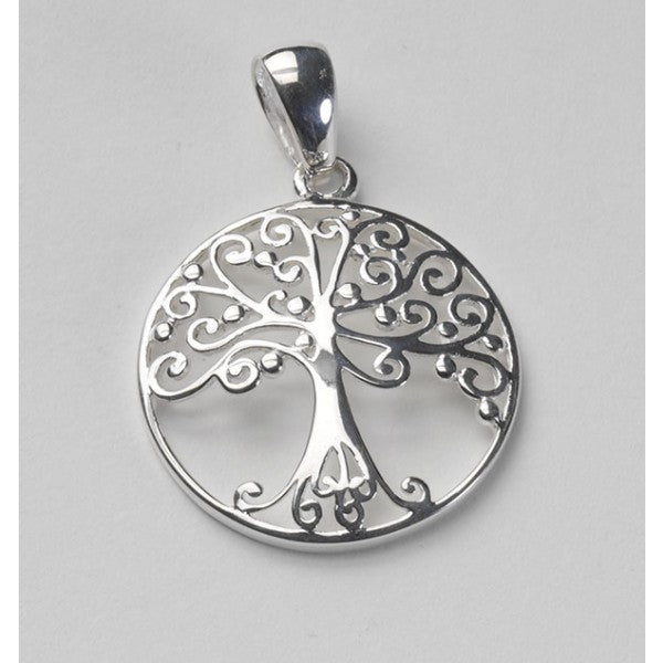 Southern Oak Series Medium Round Oak Tree Pendant