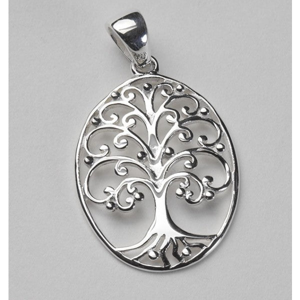 Southern Oak Series Medium Oval Oak Tree Pendant