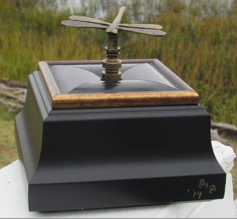 Goat Island Treasure Boxes -  Dragonfly Box Small