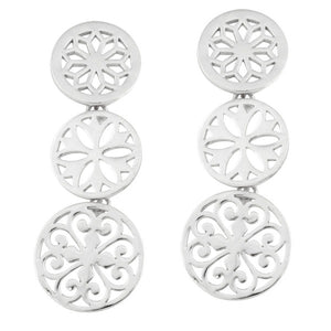 Southern Gates Collection Classic Series Triple Dangle Post Earrings