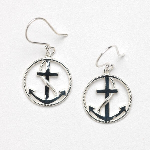 Harbor Series Anchor Earrings