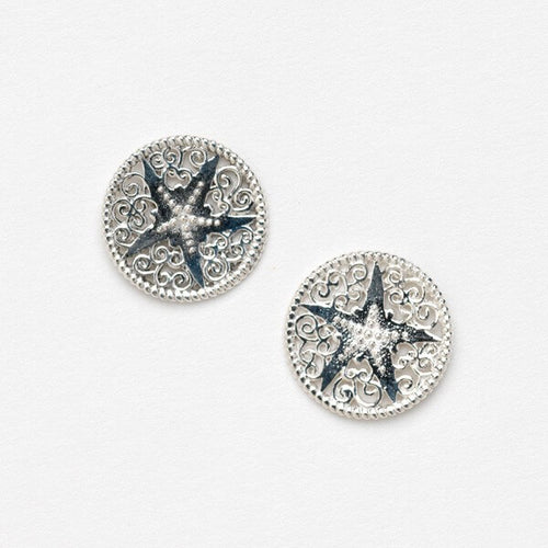 Southern Gates Harbor Series Starfish Post Earrings