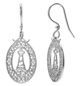 Southern Gates Harbor Series Lighthouse Earrings