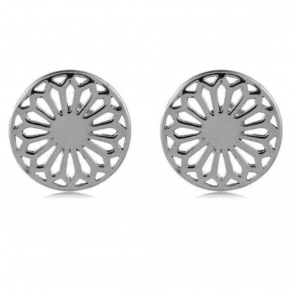 Classic Series Cathedral Scroll Post Earrings