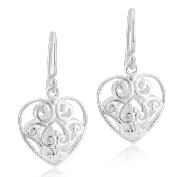 Southern Gates Puffy Heart Earring