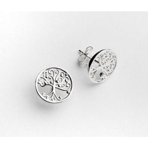 Southern Gates Collection Southern Oak Tree Series Round Post Earrings