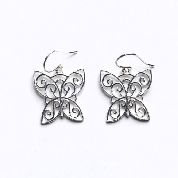 Southern Gates Courtyard Series Butterfly Earrings