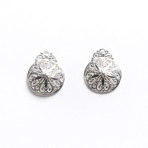 Southern Gates Sterling Silver Southern Lace Post Earrings