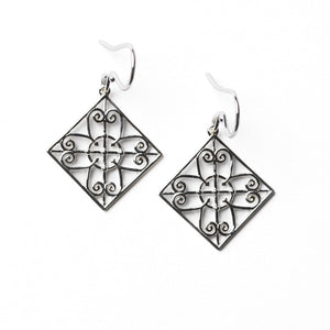 Southern Gates Collection Terrace Series Piazza Gate Earrings