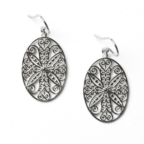 Southern Gates Courtyard Series Perennial Gate Earrings