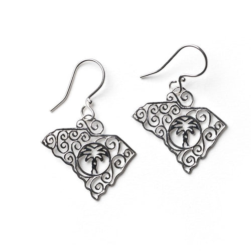 Southern Gates Collection State Series South Carolina Earrings