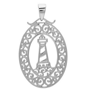 Southern Gates Harbor Series Lighthouse Pendant and Chain