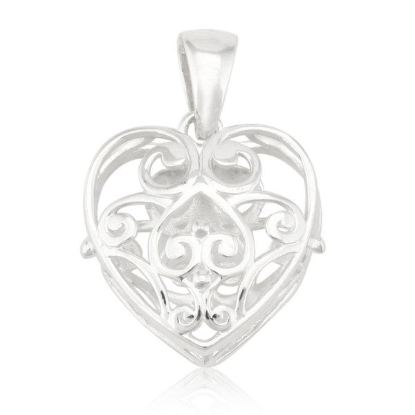 Puffy Heart Pendant
