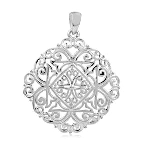 Southern Gates Collection - Ornamental Series Diane Gate Small Pendant