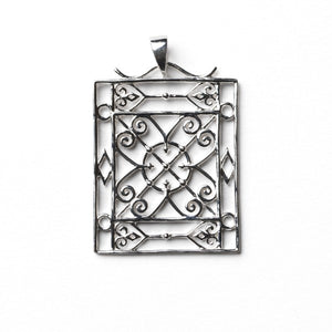 Southern Gates Collection Terrace Series Piazza Gate Pendant