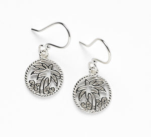 Southern Gates Harbor Series Palm Tree Earrings