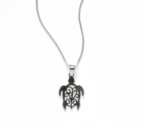 Southern Gates Harbor Series Sea Turtle Pendant and Chain