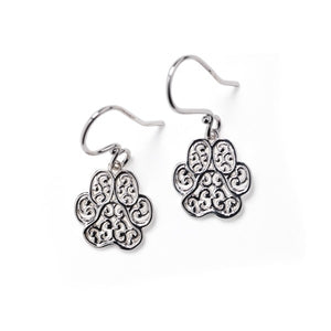 "Southern Gates Collection - LowCountry Series ""Lucy"" Paw Earrings"