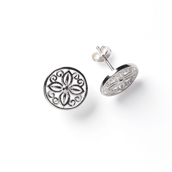 Southern Gates Collection - Courtyard Series Blossom Post Earrings