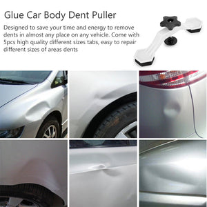 Car Dent Repair Puller [Dent Sucker Tool] Bridge Glue Puller Lifter with 5pcs Glue Tabs