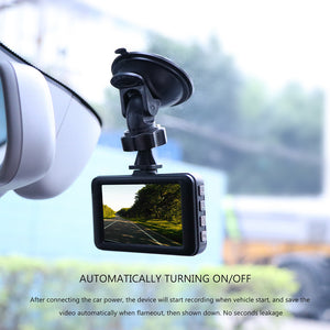 Car Dash Cam [1080P Full HD | Motion Detection | G-sensor Loop Video | IR Night Vision]