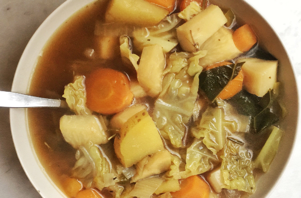 A Detoxifying Soup for the New Year