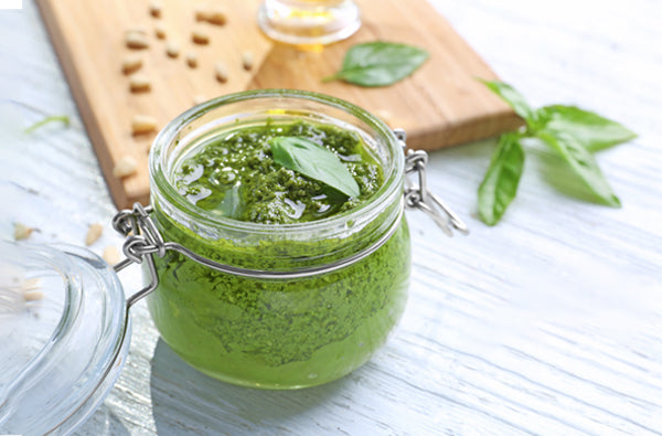 This Dairy-Free Vegan Pesto is the Only Sauce You'll Ever Need