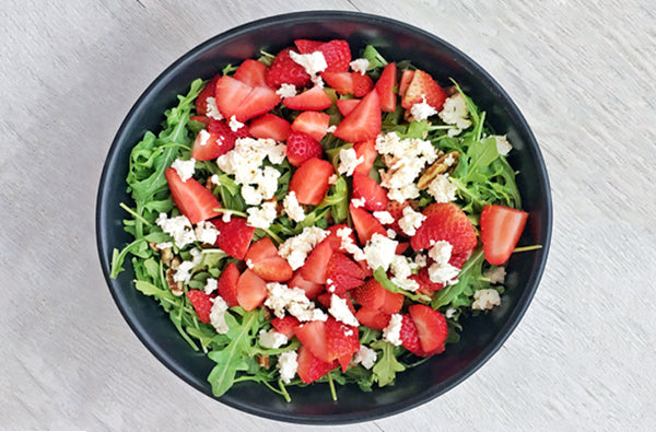 This Strawberry Arugula Salad Is Perfect For Spring