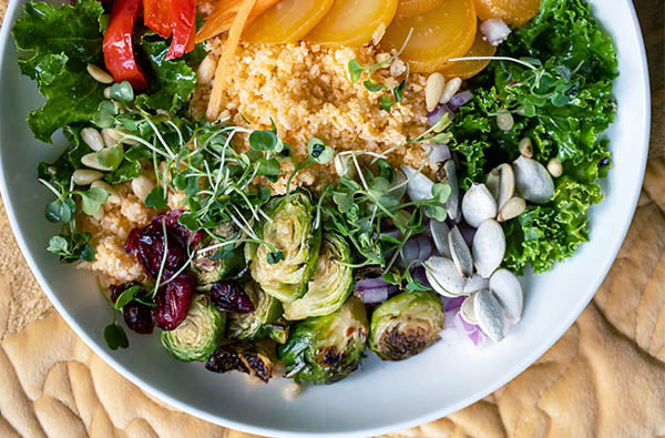 The Ultimate Winter Cauliflower Rice Bowl