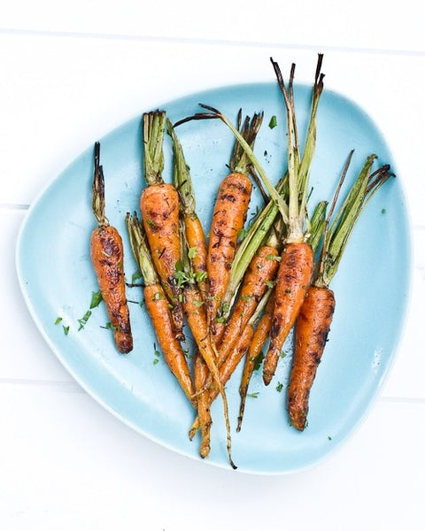 healthy roasted carrots recipe thanksgiving side dish
