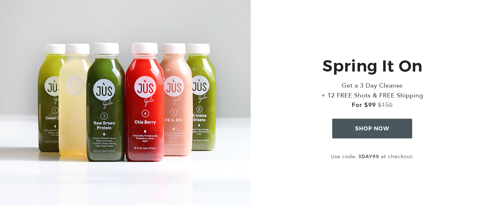 3 Day Cleanse for $99