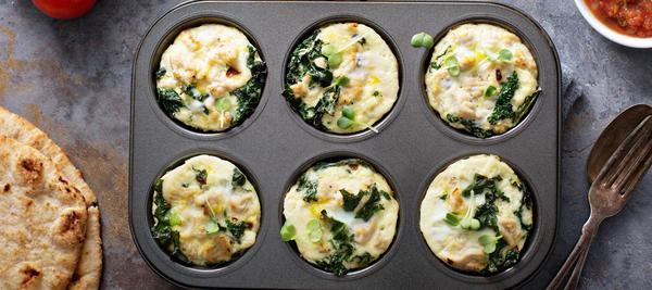 easy make ahead meal prep egg muffins breakfast