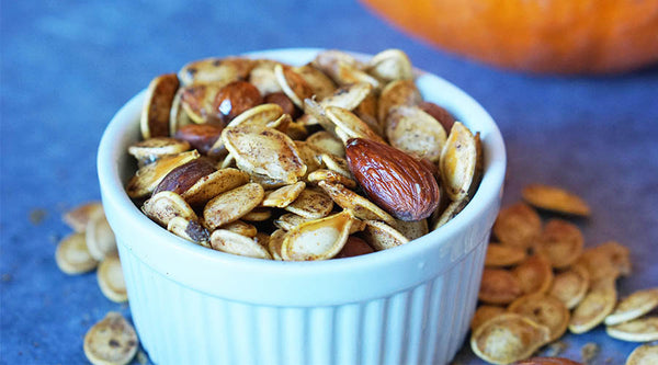 CURRY ROASTED PUMPKIN SEEDS RECIPE