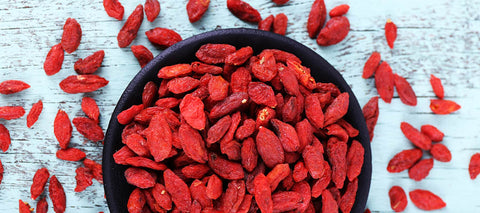 healthy high protein snacks on the go goji berries