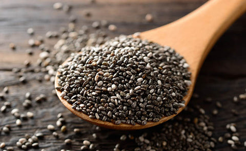 high protein snacks on the go chia seeds