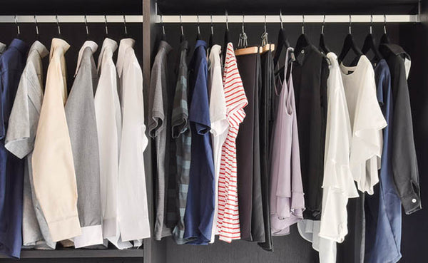 spring cleaning checklist closet