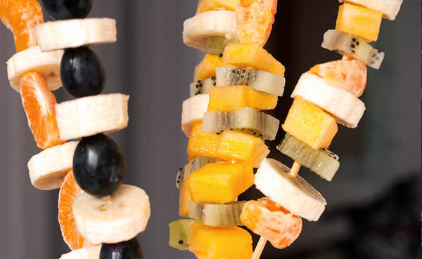 fruit skewers healthy picnic recipes foods