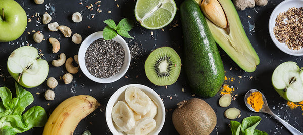 healthy habits to adopt for summer fruits vegetables chia seeds bananas kiwi