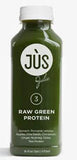 raw green protein smoothie jus by julie