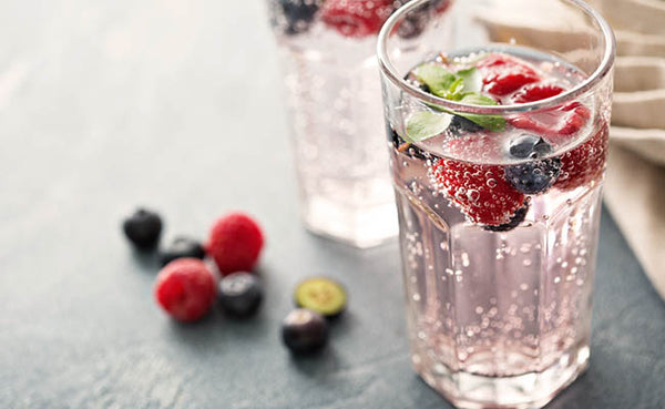 fruit infused seltzer water healthy picnic beverages drinks