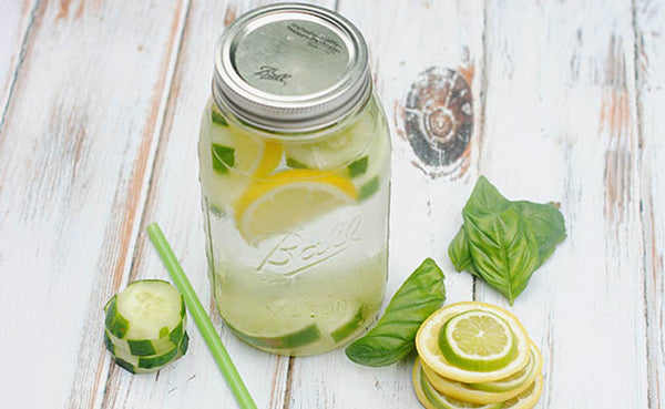 fruit infused waters detox recipes