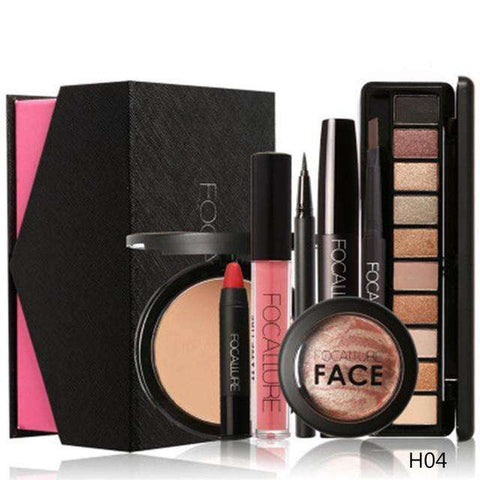 FOCALLURE 8Pc Cosmetics Makeup Set