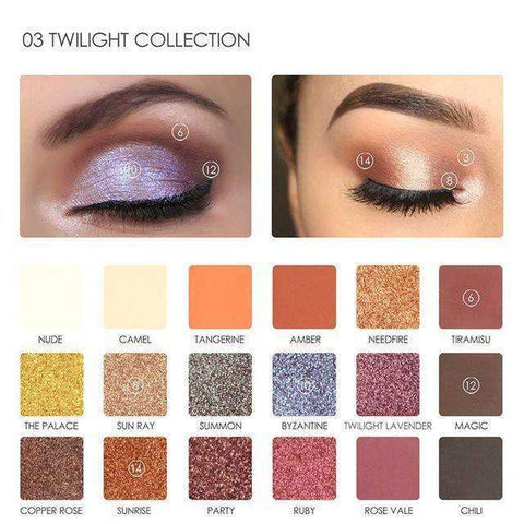 Focallure Twilight 18 Color Eyeshadow Palette