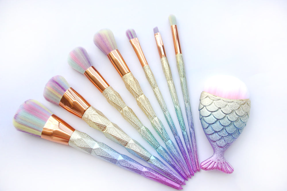 Unique Mermaid Brush Set